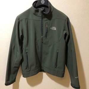 North Face Soft Shell- Olive Green